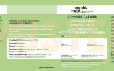 Cannabis-Ausweis der ACM