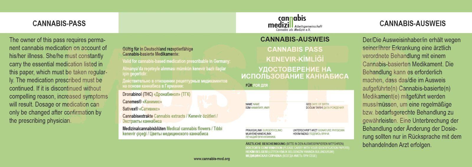 Cannabis-Ausweis