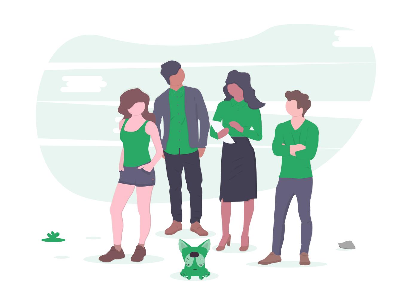 Illustration Mitgliedschaft