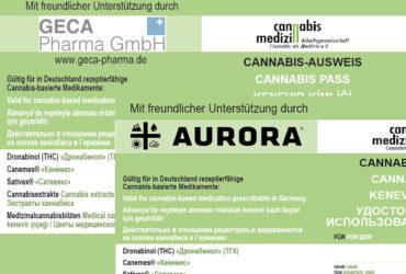 Cannabis-Ausweis für Firmen und Kooperationspartner